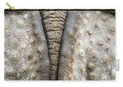 Indian Rhinoceros Tail Carry-all Pouch