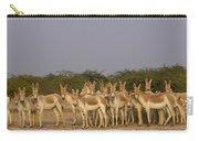 Indian Wild Ass Herd Gujarat India Carry-all Pouch