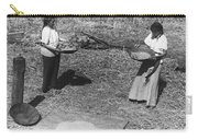 Indian Women Winnowing Wheat Carry-all Pouch
