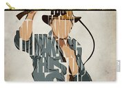 Indiana Jones - Harrison Ford Carry-all Pouch by Ayse Deniz