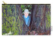 Indiana Jones In Armstrong Redwoods State Preserve Near Guerneville-ca Carry-all Pouch