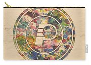 Indiana Pacers Logo Vintage Carry-all Pouch