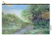 Indiana Spring Afternoon By The Creek Carry-all Pouch