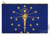 Indiana State Flag Carry-all Pouch by Pixel Chimp