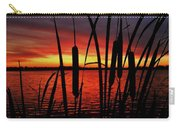Indiana Sunset Carry-all Pouch by Benjamin Yeager