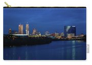 Indianapolis State Capitol And Skyline Carry-all Pouch