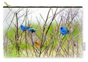 Indigo Bunting - 4 Carry-all Pouch