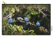 Indigo Bunting - Img 431-001 Carry-all Pouch