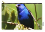 Indigo Bunting- Img_494-006 Carry-all Pouch
