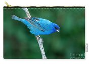 Indigo Bunting Passerina Cyanea Carry-all Pouch