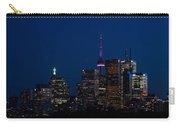 Indigo Sky And Toronto Skyline Carry-all Pouch