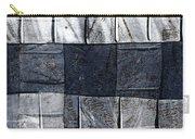 Indigo Squares 1 Of 5 Carry-all Pouch