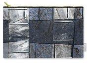 Indigo Squares 3 Of 5 Carry-all Pouch