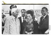 Indira Gandhi At Jfk Airport Carry-all Pouch