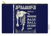 Indoor Base Ball Guide 1907 Carry-all Pouch by American Sports Publishing