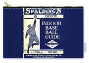Indoor Base Ball Guide 1907 II Carry-all Pouch by American Sports Publishing
