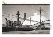 Industrial Art 2 Sepia Carry-all Pouch
