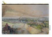 Industrial Landscape In The Blanzy Coal Field Carry-all Pouch by Ignace Francois Bonhomme