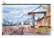 Industrial Railroad Scene  Carry-all Pouch