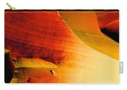 Inferno In Lower Antelope Canyon-az Carry-all Pouch