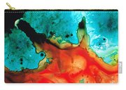 Infinite Color - Abstract Art By Sharon Cummings Carry-all Pouch by Sharon Cummings