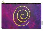 Infinity - Deep Purple With Gold Carry-all Pouch
