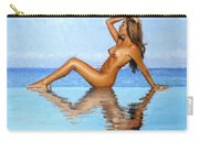 Infinity Pool Nude Carry-all Pouch