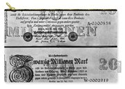 Inflated German Mark Bills Carry-all Pouch