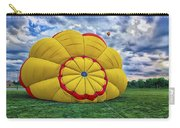 Inflating The Hot Air Balloon Carry-all Pouch