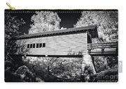 Infrared Covered Bridge Carry-all Pouch