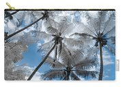 Infrared Palm Trees On The Coast Carry-all Pouch