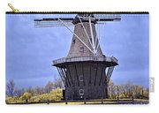 Infrared Photo Of The Dezwaan Dutch Windmill On Windmill Island In Holland Michigan Carry-all Pouch