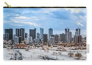 Infrared Sunset Over Honolulu Carry-all Pouch