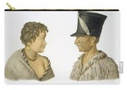 Inhabitants Of New Zealand, 1826 Carry-all Pouch