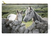 Inishmore Horses Carry-all Pouch