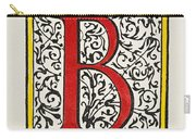 Initial 'b', C1600 Carry-all Pouch