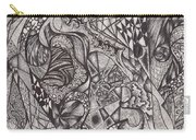 Ink Unfolding Carry-all Pouch