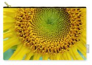 Inner Peace Forms Within This Sweet Yellow Sunflower Carry-all Pouch