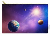 Inner Solar System Planets Carry-all Pouch by Johan Swanepoel