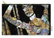 Inner Strength Steampunk Portrait  Carry-all Pouch