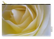Innocence White Rose 4 Carry-all Pouch