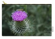 Insect On A Thistle Carry-all Pouch