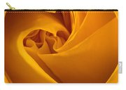 Inside A Yellow Rose Carry-all Pouch
