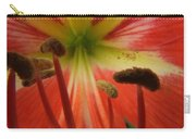 Inside Amaryllis Carry-all Pouch