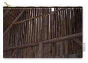 Inside An Old Barn Carry-all Pouch by Edward Fielding