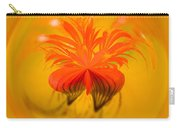 Inside Out Nasturtium Carry-all Pouch