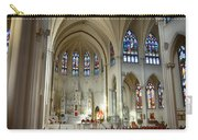 Inside The Cathedral Basilica Of The Immaculate Conception 1 Carry-all Pouch