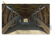 Inside The Cox Ford Covered Bridge Carry-all Pouch