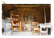 Inside The Real Sam Mcgee's Cabin In Macbride Museum In Whitehorse-yk Carry-all Pouch