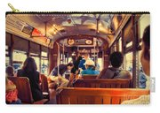 Inside The St. Charles Ave Streetcar New Orleans Carry-all Pouch